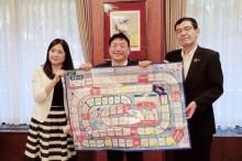 第一フロンティア生命保が人生設計ゲーム 姫路市の小学生らが開発に協力