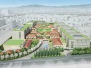 関西外大御殿山キャンパス・グローバルタウン着工 2018年春開学目指す