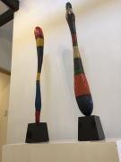 枚方のギャラリーで漆造形展 アーティストトークも