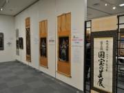 枚方で西陣美術織・国宝の仏像回廊展 枚方・尊延寺の仏像作品含む54点