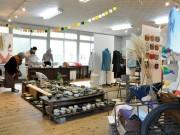 枚方・星ヶ丘学園で秋のフェスタ 作品展やフリーマーケット、ファッションショーも