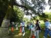交野の植物園でサマースクール 子どもたちに自然と触れ合う機会を提供