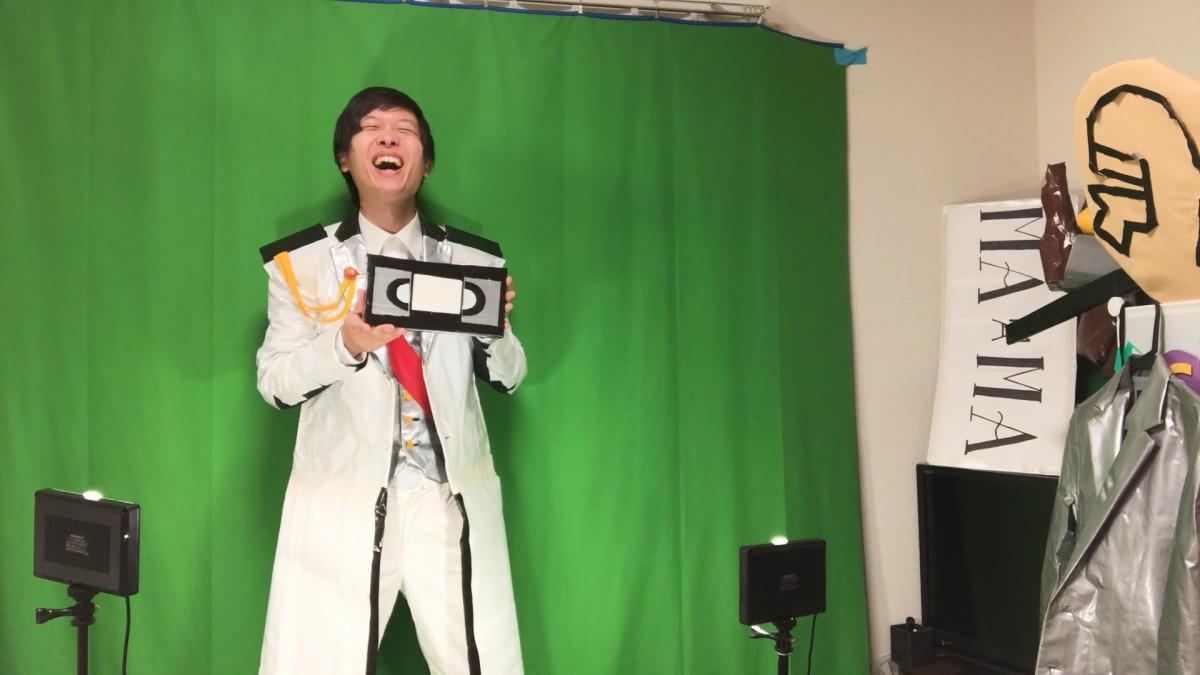 動画撮影中の高橋さん