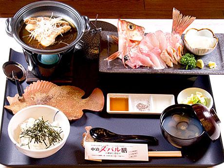 高級魚と言われるメバルを1匹まるごと使った「中泊メバル膳」
