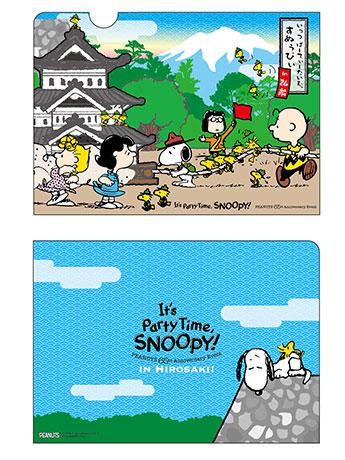 弘前限定の「曳家スヌーピー」と「石垣の上で眠るスヌーピー」