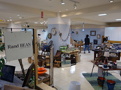 「Rand BEAN弘前中三店」店内の様子。移転前より広くなった