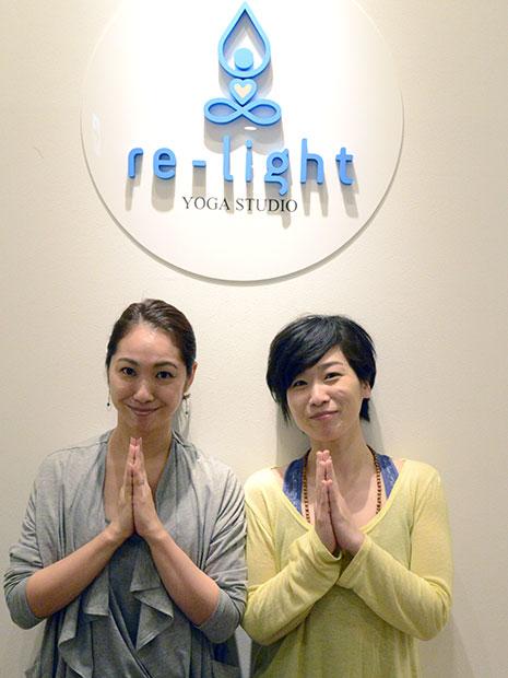 金輪佳子さん(左)とMOMOさん(右)