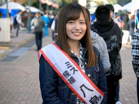弘大ミスグランプリ2016に輝いた八島愛美さん