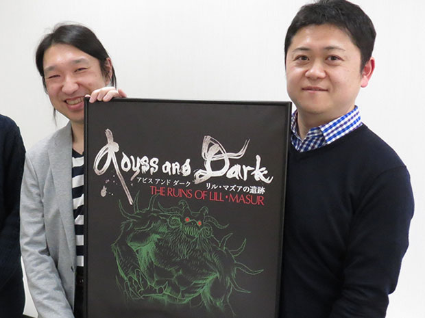 齋藤雅昭さん(右)と三浦斎さん(左)
