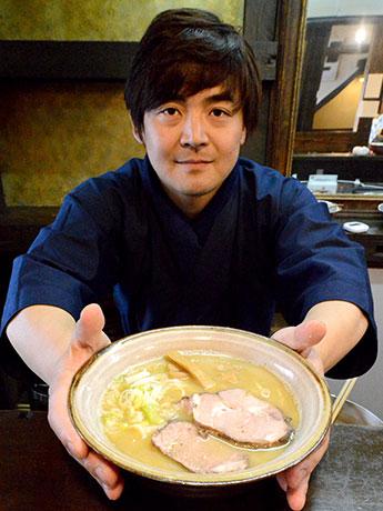 ラーメン研究家の石山勇人さんと「煮干しラーメン」