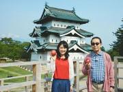 NHK「ブラタモリ」、タモリさん弘前を歩く パブリックビューイングも