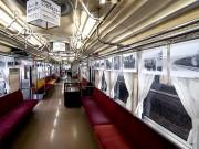青森の弘南鉄道が開業90周年 車両内で写真パネル展示