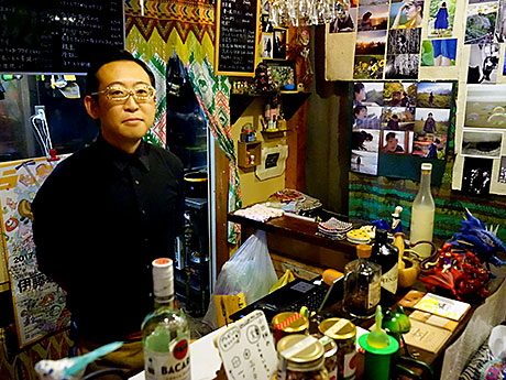 居酒屋オダギリくんの店主・小田桐啓太さん