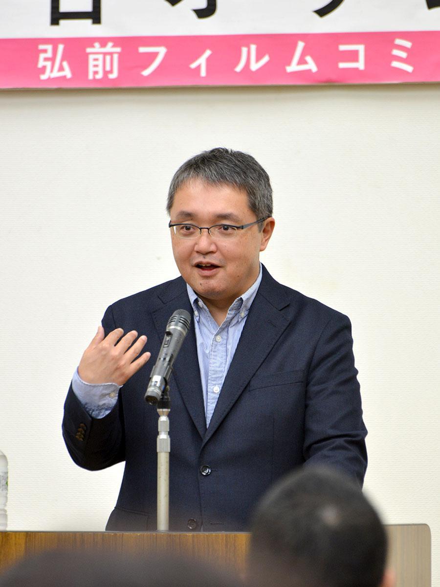 小説「いとみち」の原作者・越谷オサムさん