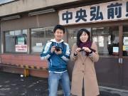 弘前の大鰐線の写真を学生らが毎日投稿 駅舎を改修しギャラリー展示も