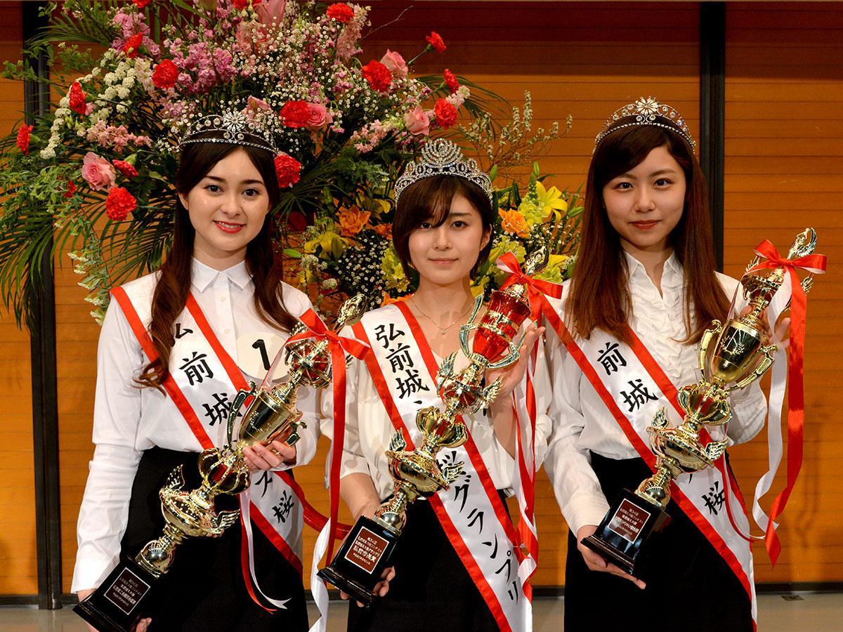 (右から)小山内鈴奈さん、木村桜さん、角田愛琳奈さん