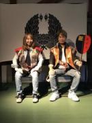 「コナン」声優らが青森を観光 弘前公園で人気声優のツーショットも