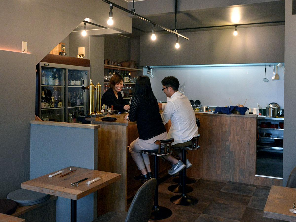 「Hirosaki Rice Wine」の店内