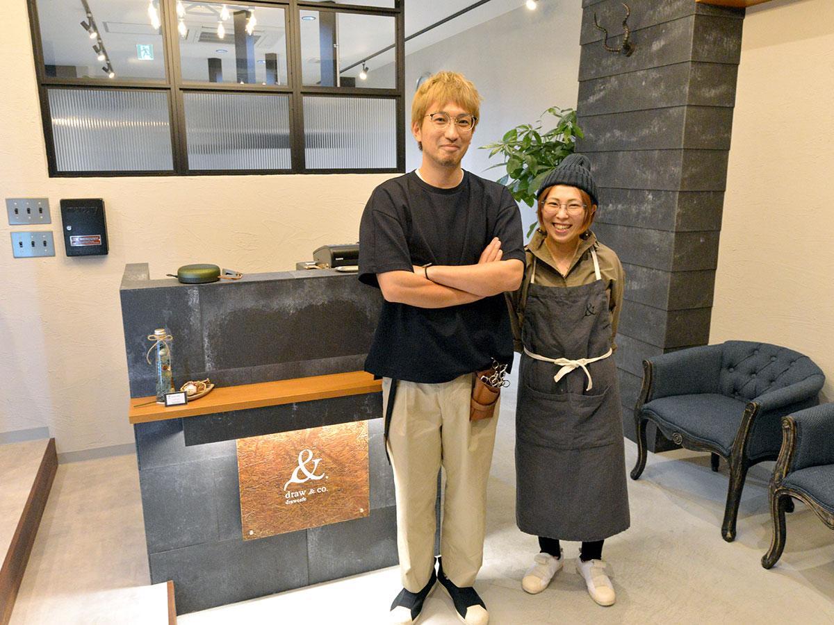 下山浩二さん(左)と春香さん(右)