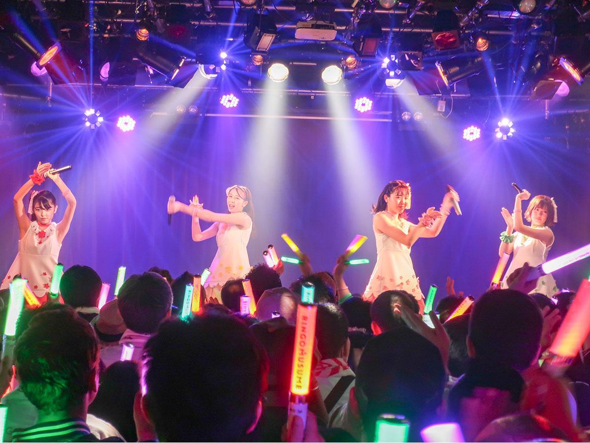 りんご娘のファイナル公演(提供:RINGOMUSIC)