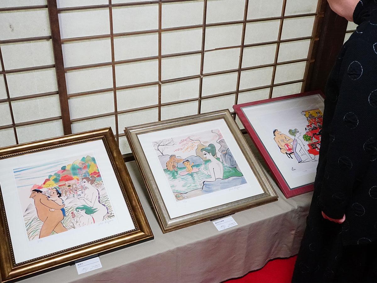 「黄桜」の女カッパで有名な小島功さんの作品