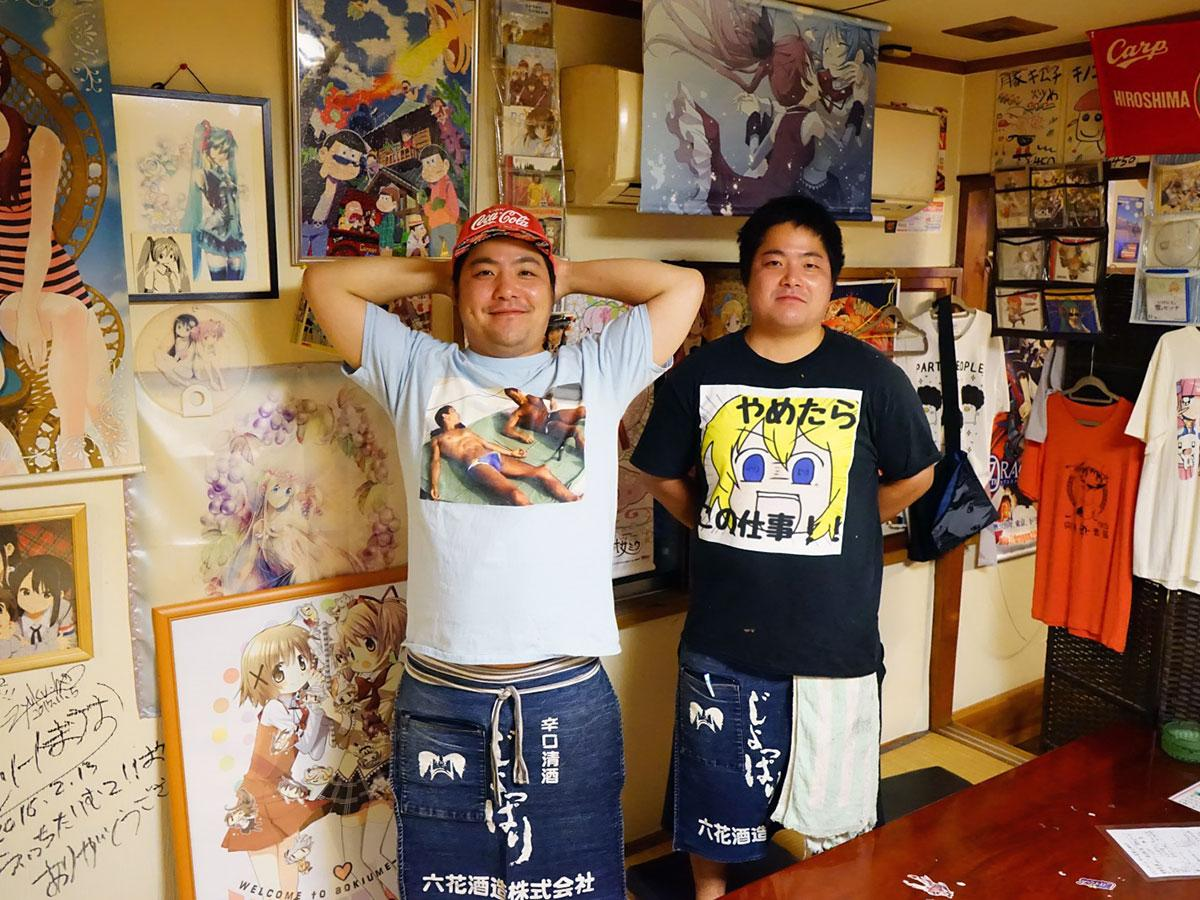兄・三國典聖さん(左)と弟・典継さん(右)