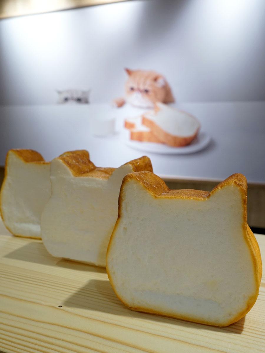 ねこねこ食パンのプレーン