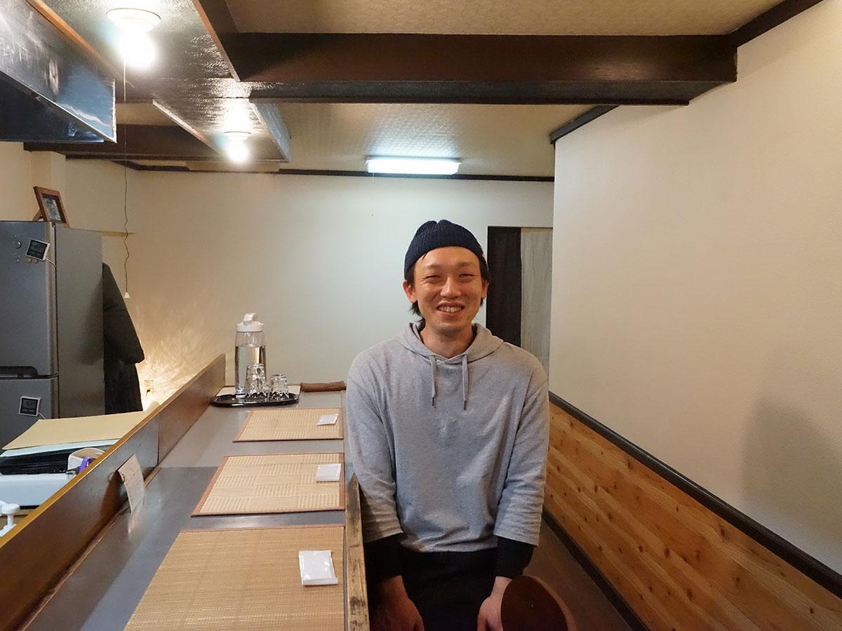 「ままごせ」店主の松本恭平さん