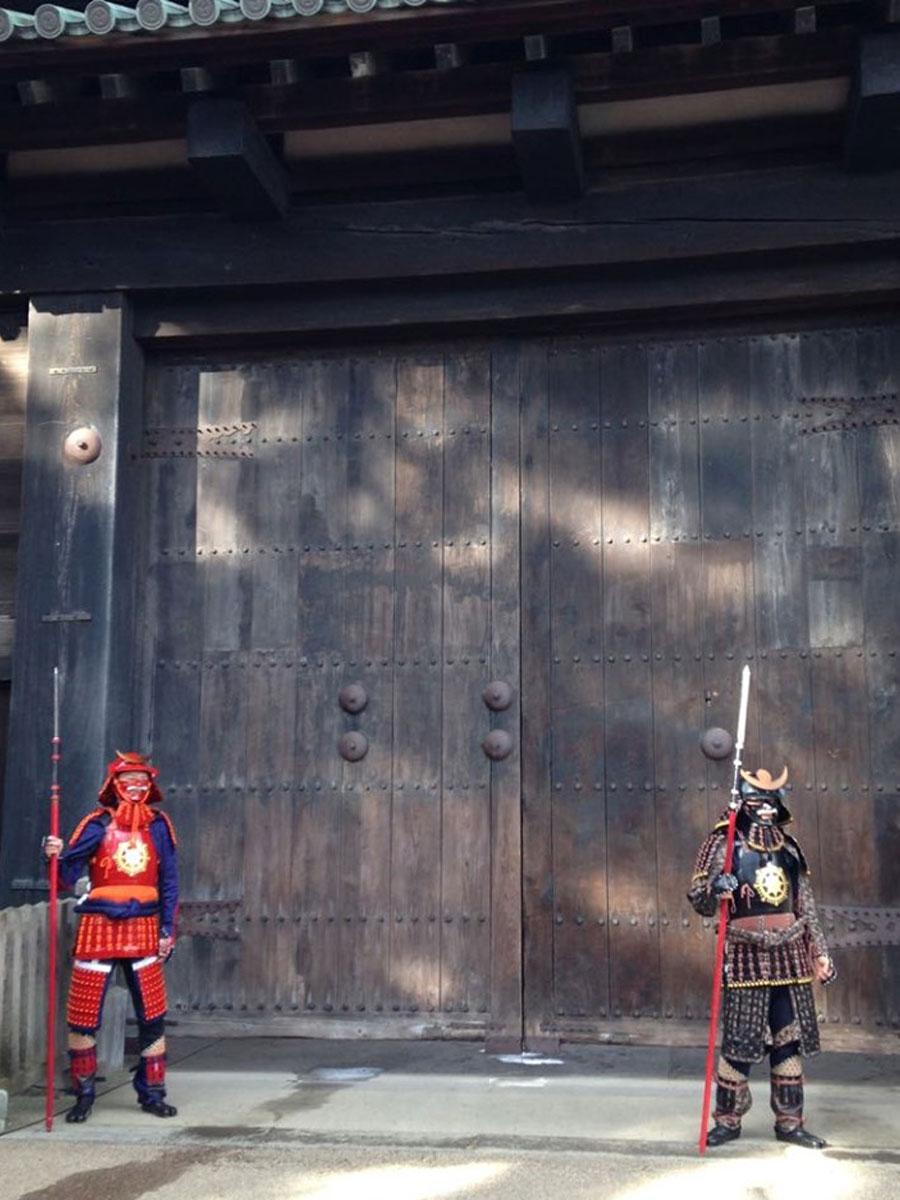 閉門イメージ。2016(平成28)年10月30日に行われた東門・開門イベント時の様子