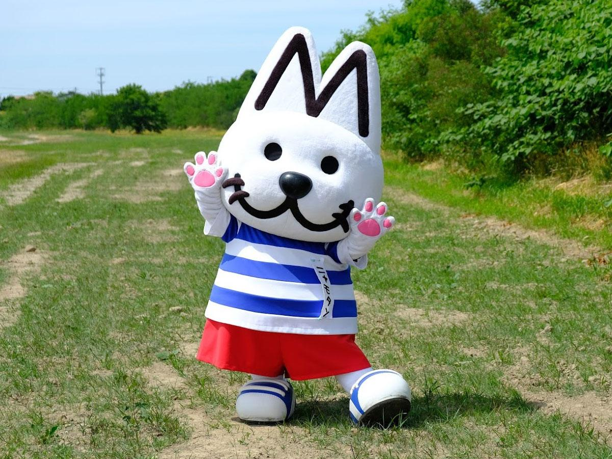 モータースクールのマスコットキャラクター・ニャモタン