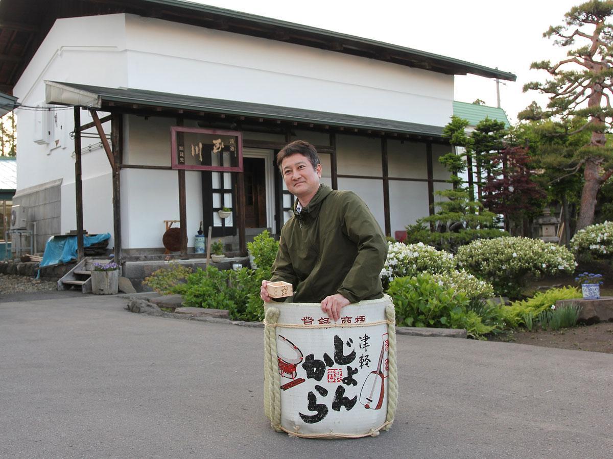 カネタ玉田酒造社長の玉田宏造さん