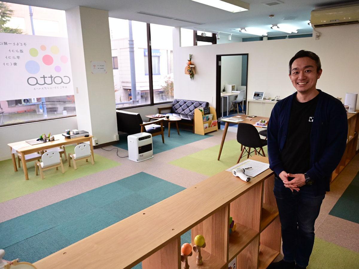 cottoとまちなかキャンパス代表の辻正太さん
