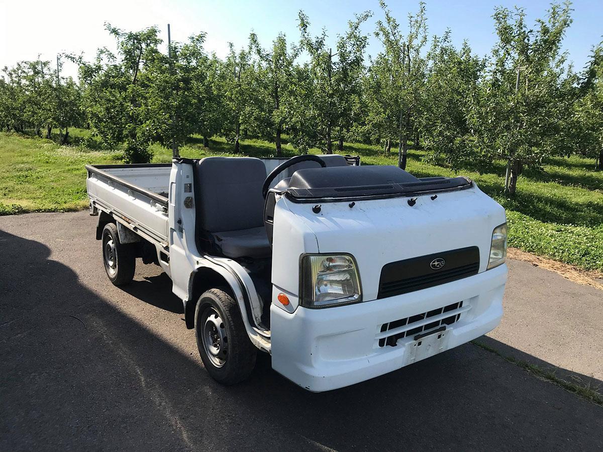 1位となったリンゴ農家の愛用車「バゲ」(写真提供=Fりんご農家さん)
