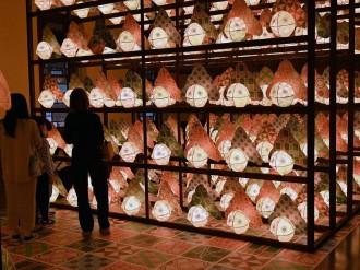 弘前で「mt博」 デザインマスキングテープ「金魚ねぷた」960個展示も