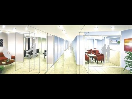 6階「トータルビューティーフロア」イメージ図©オリエンタルホテル広島