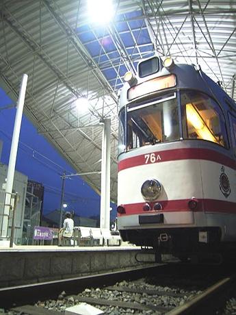 ドイツのドルトムント電車