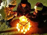 写真=昨年、兵庫県で行われた「Candle Night 1 Pi:ce」の様子