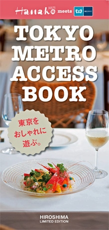 東京メトロアクセスガイドブック表紙