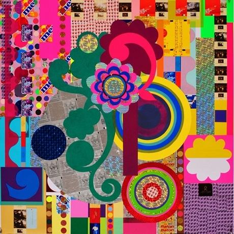 お菓子の包装紙を使用した作品。ベアトリス・ミリャーゼス 《メガ・ボックス》2008年 Photo: Fausto Flelury Courtesy: Galeria Fortes Vilaca, Sao Paulo