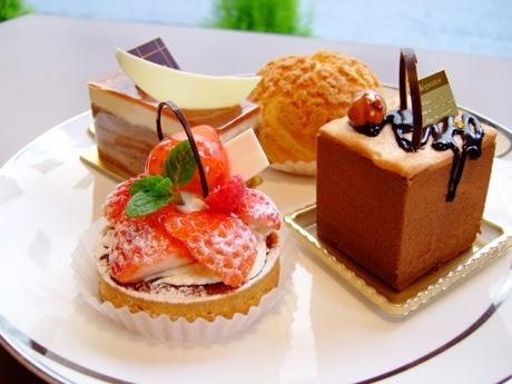 「スウィートデイズ」にはイチゴを使ったケーキも増えてきた