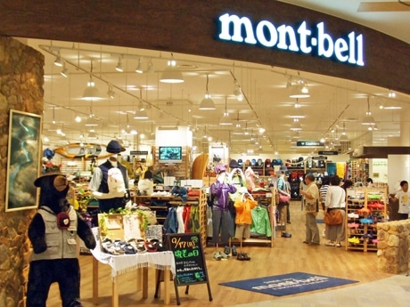 4月29日にイオンモール広島祇園内にオープンするアウトドア用品店「モンベル」。写真は、奈良県のSC内にオープンした「モンベルクラブ高の原店」。