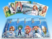 5人の萌えキャラ描く「萌えちりめん」-広島オタクマップが特産品とコラボ