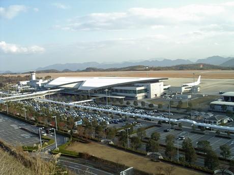昨年12月に利用者が5,000万人を突破した広島空港