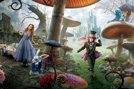 アリス・イン・ワンダーランド(C)Disney Enterprises, Inc. All rights reserved.