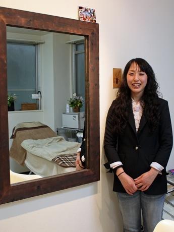 理容室「HIROCO」を独立開業した清見弘子さん
