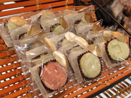 廿日市市吉和のワサビを使ったスペインの焼き菓子「ポルポローネ」