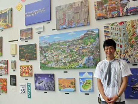 広島のデザイン会社「IC4DESIGN」社長のカミガキヒロフミさん