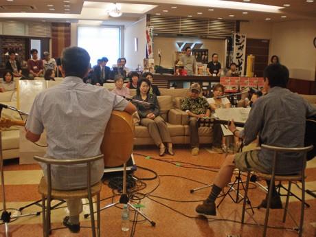 6月19日にウエストプラザで行われた広島ミュージックジャンボリーのプレイベント