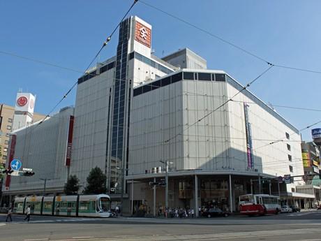 10月に「丸善&ジュンク堂広島店」がオープンする八丁堀天満屋外観