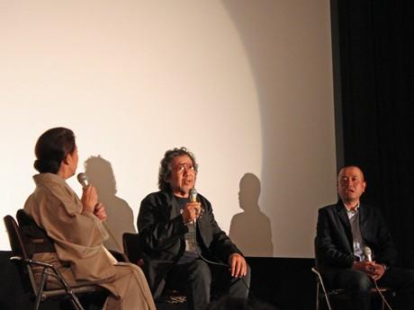 「時かけ映画祭in広島」でのトークショーでは、「広島で大林監督作品と一緒に上映してもらえるのは光栄」と谷口監督のコメントも。